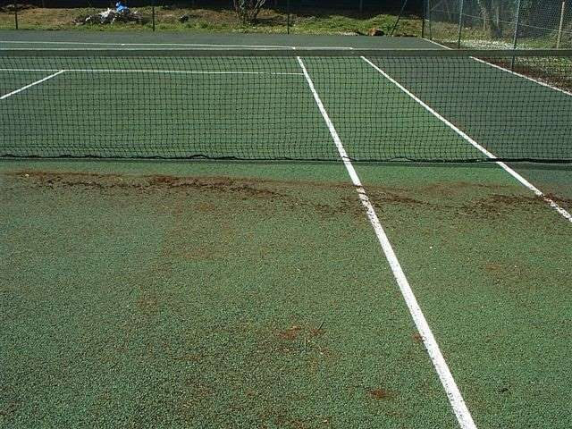 Tennis Court - Before