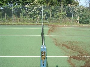 Tennis Court - After