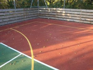 Tennis Courts - After
