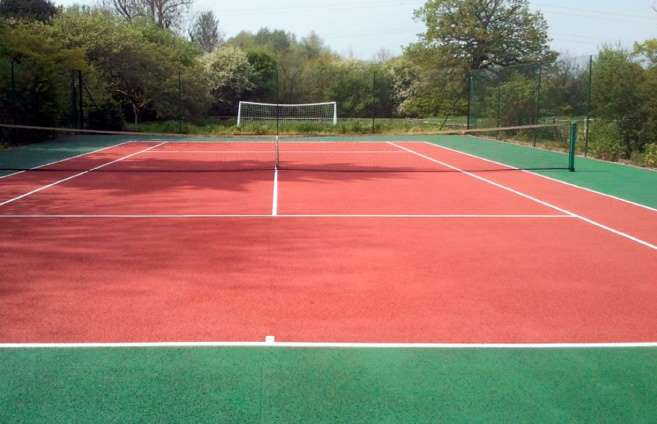 Tennis Court Cleaning In Essex Moss Removal For Tennis